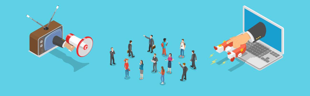 Entenda a diferença entre Inbound e Outbound Marketing