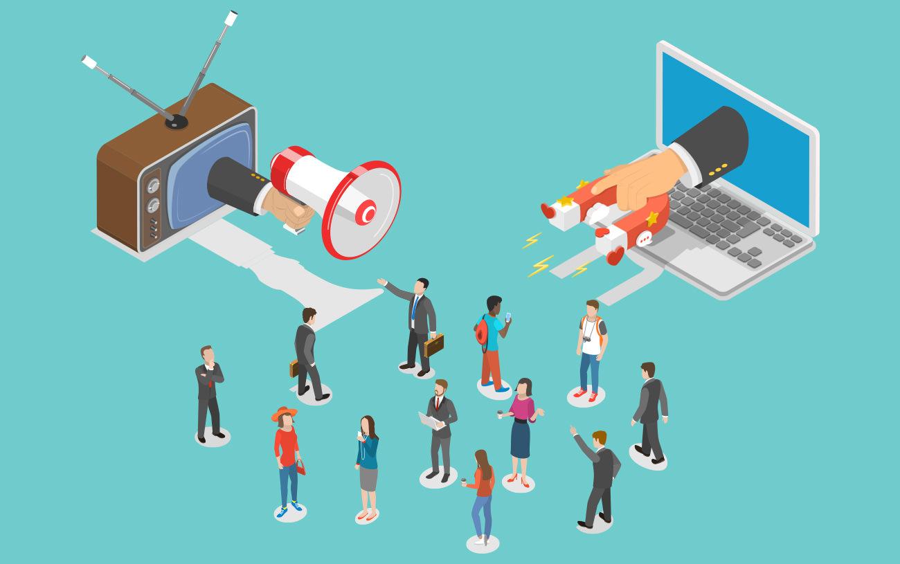 Diferença entre Inbound e Outbound Marketing