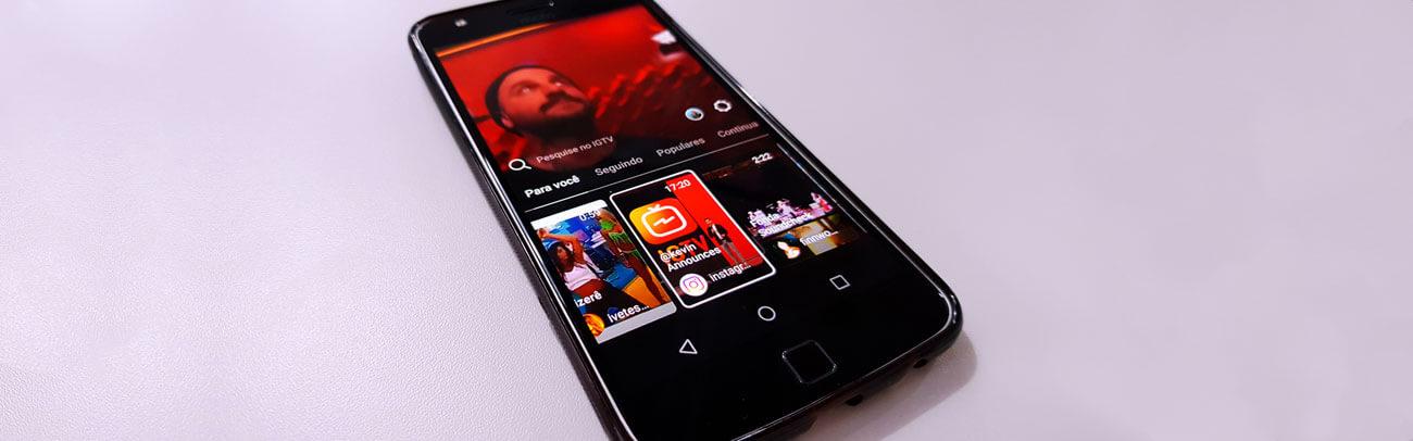 Instagram cria TV e aumenta rivalidade com Youtube.